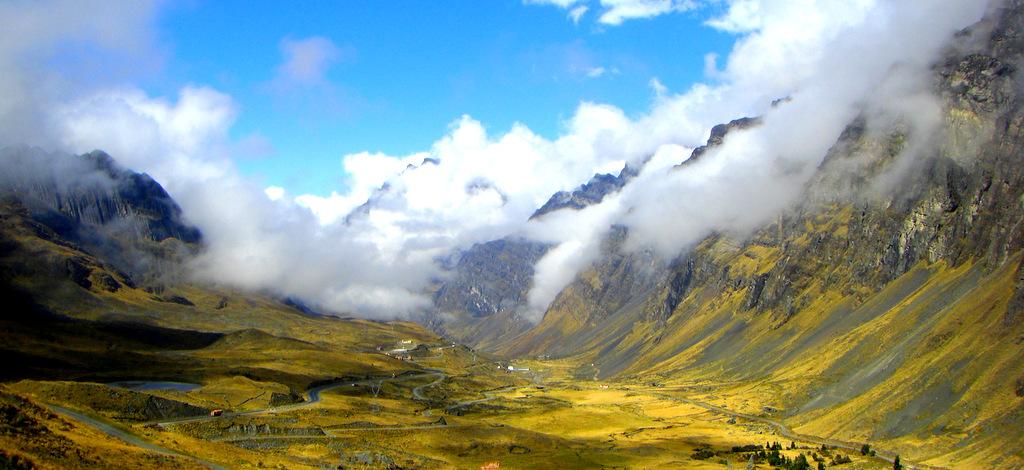 La cabeza en las nubes: Rumbo al Perú