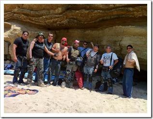 De izquierda a derecha: Omar, Juan Carlos, Julio, Mauricio, Carlos, Luis, Felipe, Alejandro, Oscar