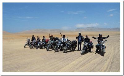 Team Renegade conquistando Paracas.