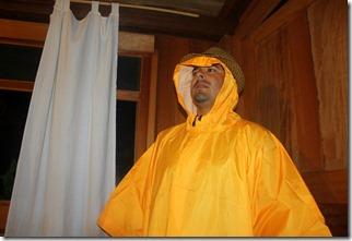 Esa era la cara menos preocupada por la lluvia.