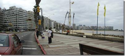 Montevideo es básicamente esto multiplicado por 50.