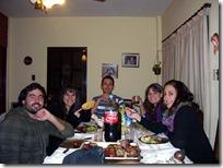 Altos compañeros: Nano, Marian, Gaby y Vale.
