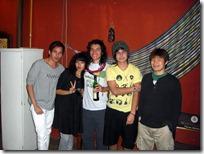 Camilo, Natalia, Segio, Juan Pablo, y Yojiro