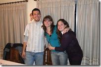 Con Gaby y su hermana Maru.
