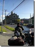 Charlie preparándose para salir de Punta Arenas