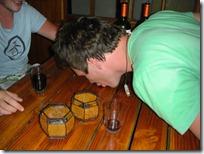 El alcohol no se desperdicia!