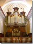 Órgano en la Catedral