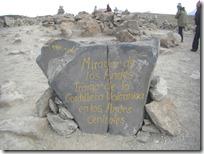 Mirador de los volcanes a 4910 msnm.