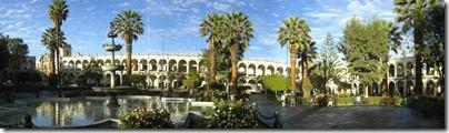 El último paseo diurno por Arequipa