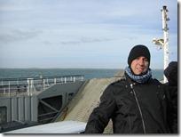 En medio del Estrecho de Magallanes