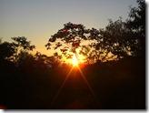 Un lindo amanecer sobre Los Yungas