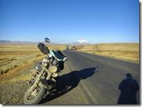 Cruzando el altiplano boliviano