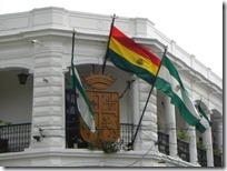 Banderas de Bolivia y Provincia de Santa Cruz