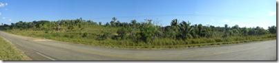 Pasando de la región de Santa Cruz al Beni
