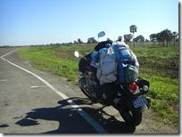 Comenzando a atravesar El Chaco