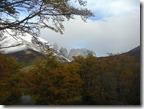 Las Torres del Paine a la distancia. Había que verlas.