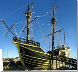La nave de Magallanes, la Nao Victoria.