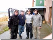 The Four Horsemen: Fernando, Charlie, Luis, y Sam