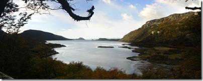 Bahía Lapataia en todo su esplendor.