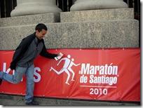 Maratón de Santiago 2010: Fuerza Chile!