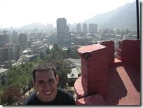 Desde la cima del castillo en el Cerro Santa Lucía