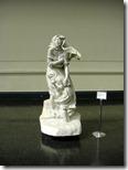 Estatua de mármol en el Museo de Bellas Artes