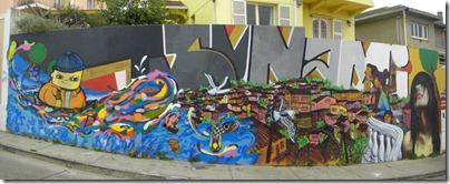Mural en la Av. Alemania en Valparaíso