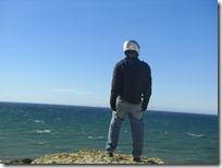 Contemplando el mar nuevamente.