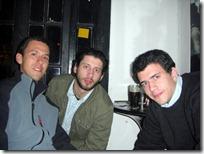 Con Piojon, Juan y el fernet